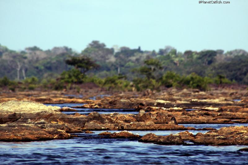 Rocks and clear water - this is Xingu