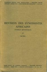 Revision des Synodontis Africaines (Famille Mochocidae)