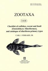 Checklist of catfishes, recent and fossil (Osteichthyes, Siluriformes) and catalogue of siluriform primary types